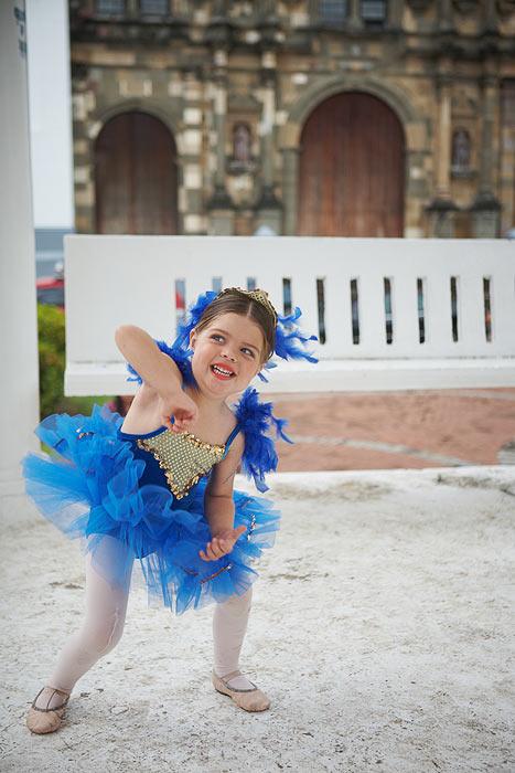 Балерина в Каско Виехо.